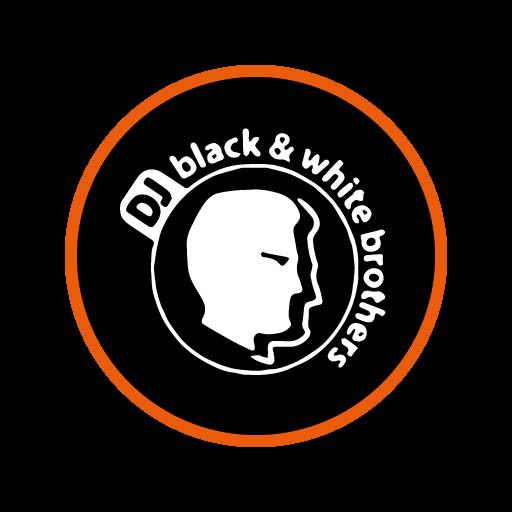 Logo des DJ's Black & White
